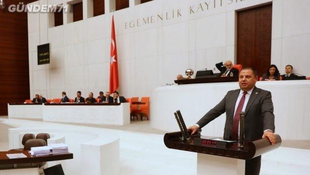 Halil Öztürk Kırıkkale'nin Demiryolu Projelerini Sordu