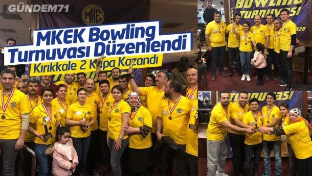 MKEK Bowling Turnuvası Düzenlendi