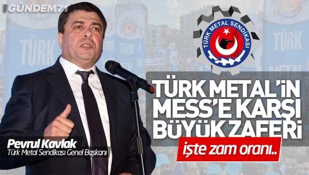 Türk Metal Sendikası MESS İle Anlaştı