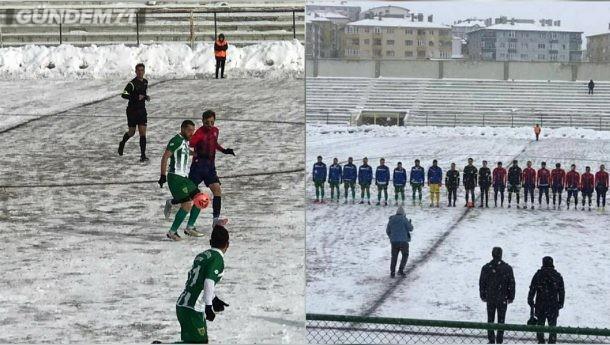 Kırıkkale Büyük Anadoluspor Bağlumspor'u 3-0 Yendi