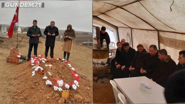 Halil Öztürk, İdlib Şehidimiz Davut Özcan'ın Baba Ocağını Ziyaret Etti