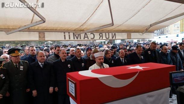 Şehit Piyade Uzman Onbaşı Davut Özcan Son Yolculuğuna Uğurlandı
