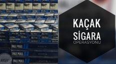 Delice'de 410 Paket Kaçak Sigara Ele Geçirildi