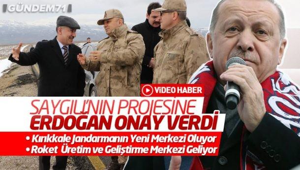 Saygılı'nın Projesine Erdoğan Onayı