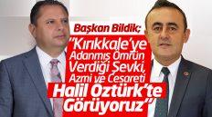 """İsmail Bildik; """"Kırıkkale'ye Adanmış Ömrün Verdiği Şevki, Azmi ve Cesareti Halil Öztürk'te Görüyoruz"""""""