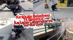 Kırıkkale Belediyesi Yıl Boyunca İlaçlama Çalışmalarına Devam Ediyor