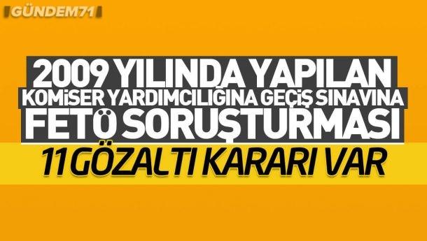Kırıkkale'de FETÖ Operasyonu: 11 Gözaltı