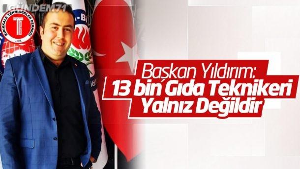 Kırıkkale Teknikerler Derneği Başkanı Mesut Yıldırım, Gıda Teknikerleri Hakkında Konuştu