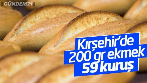 Kırşehir'de Ekmek 59 Kuruşa Düştü