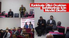 Kırıkkale Ülkü Ocakları Şehitlerimiz İçin Mevlid Okuttu