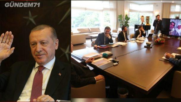 Cumhurbaşkanı Erdoğan, Kırıkkale'de Vefa Destek Ekiplerinin Yardım Götürdüğü Aile İle Görüştü