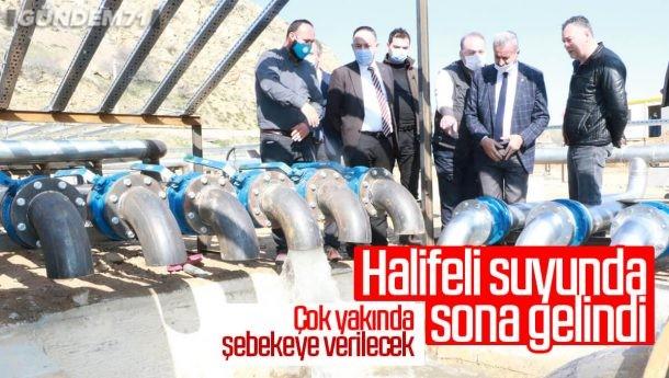 Kırıkkale'nin Alternatif Su Kaynağı, Halifeli Suyunda Sona Gelindi