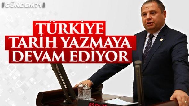 """Halil Öztürk; """"Türkiye Tarih Yazmaya Devam Ediyor"""""""