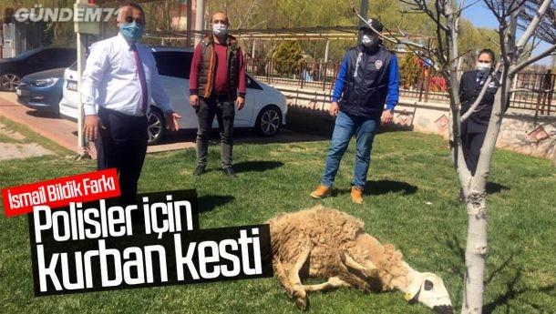 İsmail Bildik, Polis Haftası Nedeniyle Kurban Kesti