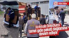 Kırıkkale Belediyesi, Temel Gıda Paketi Dağıtımına Devam Ediyor