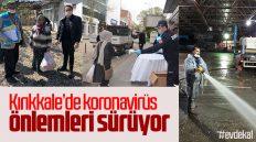 Kırıkkale'de Koronavirüs Önlemleri Sürüyor