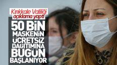 50 Bin Maskenin Ücretsiz Dağıtımına Bugün Başlanıyor