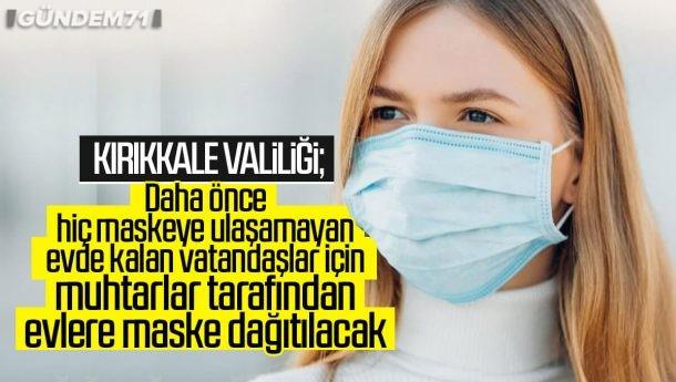 Mahallelerde Muhtarlar Aracılığı İle Maske Dağıtımına Başlanıyor
