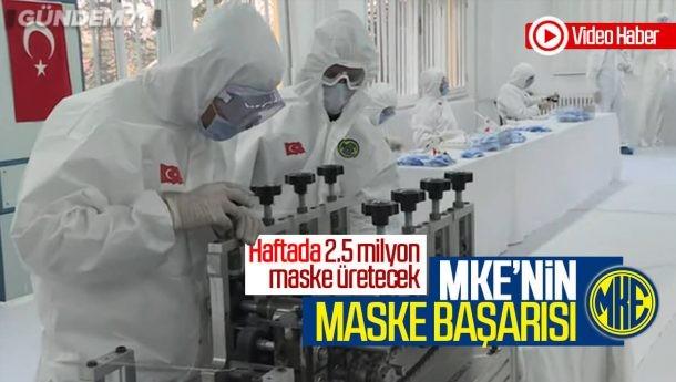 MKE'nin Maske Başarısı