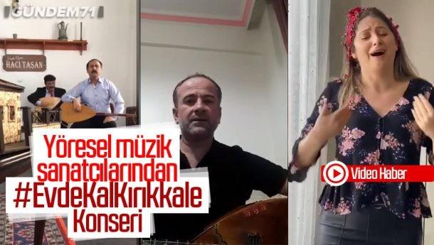 Yöresel Müzik Sanatçılarından Evde Kal Kırıkkale Çağrısı