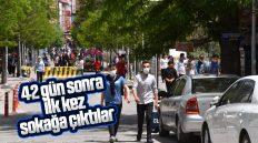 Kırıkkale'de 15-20 Yaş Aralığındaki Gençler 42 Sonra Sokağa Çıktı