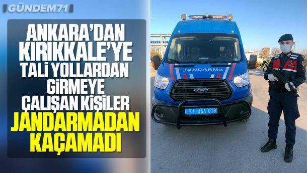 Ankara'dan Kırıkkale'ye İzinsiz Gelen 14 Kişiye İdari Yaptırım Uygulandı