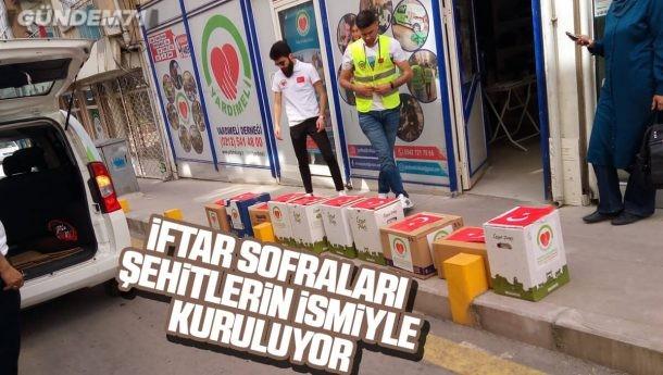 Kırıkkale'de Şehitlerin İsmiyle İftar Sofraları Kuruldu