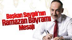 Kırıkkale Belediye Başkanı Mehmet Saygılı Ramazan Bayramı Nedeniyle Mesaj Yayımladı