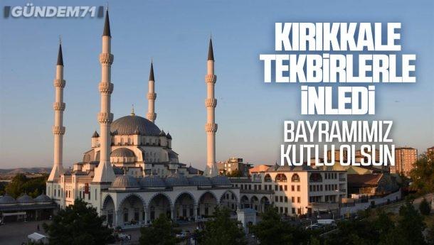 Kırıkkale'de Boş Kalan Camilerden Tekbir Sesleri Yükseldi