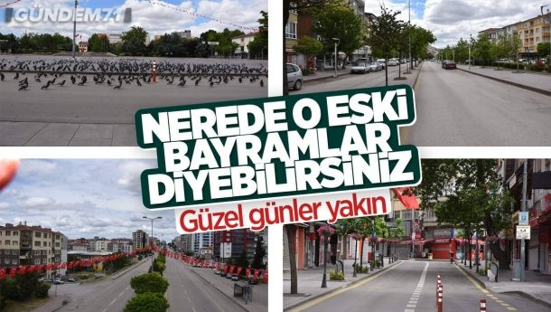 Kırıkkale'de Sessiz Bayram