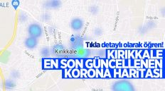 Koranavirüs Risk ve Yoğunluk Haritasında Kırıkkale'deki Son Durum Ne ?