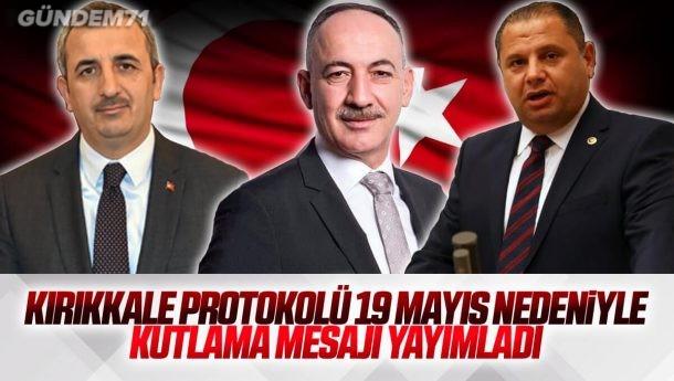 Kırıkkale Protkolünden 19 Mayıs Mesajları