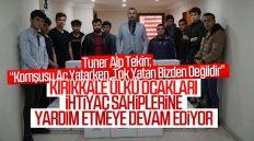 Kırıkkale Ülkü Ocakları, İhtiyaç Sahiplerine Erzak Yardımlarına Devam Ediyor