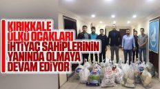 Kırıkkale Ülkü Ocakları, Ramazan Ayında İhtiyaç Sahiplerine Yardımlara Devam Ediyor