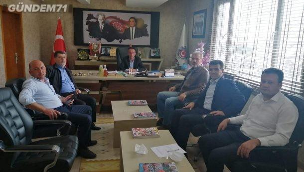 Türk Metal Sendikası Kırıkkale Şubesinde Görev Değişimi
