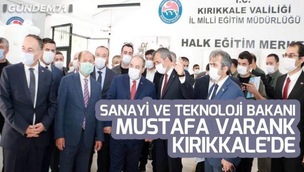 Sanayi ve Teknoloji Bakanı Mustafa Varank Kırıkkale'de İncelemelerde Bulundu