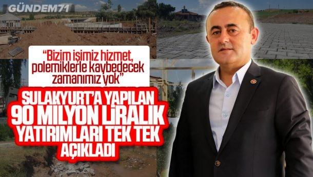 İsmail Bildik, Sulakyurt'a Yapılan Yatırımları Açıkladı