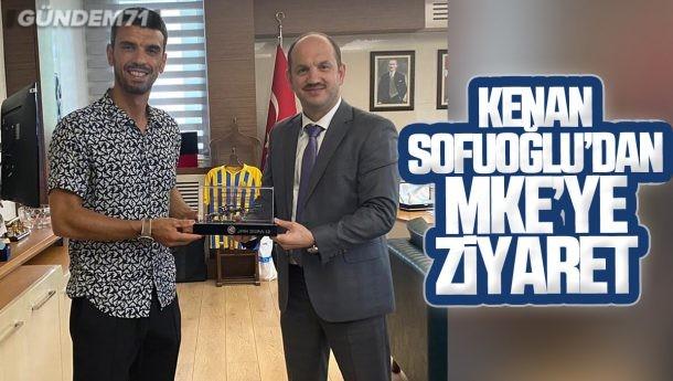Kenan Sofuoğlu'dan MKEK Genel Müdürü Yasin Akdere'ye Ziyaret