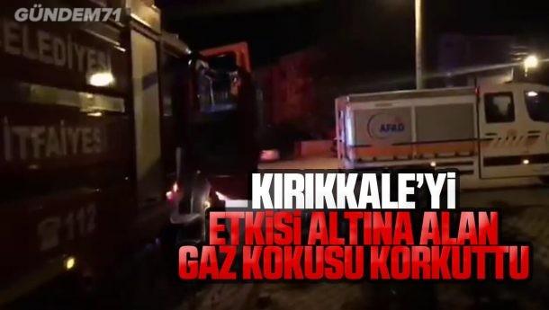 Kırıkkale'yi Saran Gaz Kokusu Korkuttu
