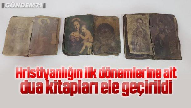 Kırıkkale'de Ceylan Derisi Üzerine İşlenmiş İncil Ele Geçirildi