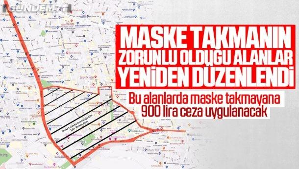 Kırıkkale'de Maske Takma Zorunlu Olduğu Alanlar Yeniden Düzenlendi