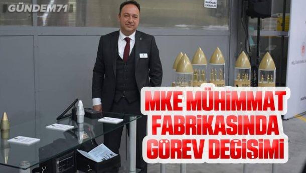 MKE Mühimmat Fabrikası Müdürü Çağatay Öncel Oldu