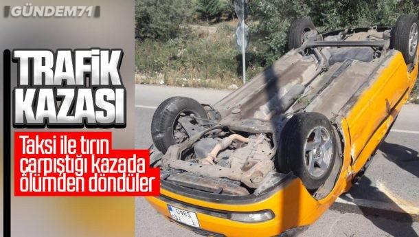 Kırıkkale'de Trafik Kazası; 3 Kişi Yaralandı