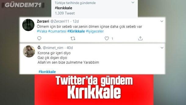 Kırıkkale Twitter'da Gündem Oldu