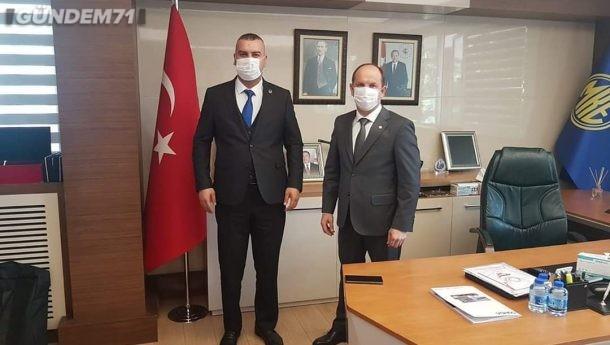 Tuner Alp Tekin'den MKE Genel Müdürü Yasin Akdere'ye Ziyaret