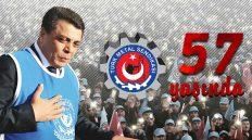 Türk Metal Sendikası 57 Yaşında