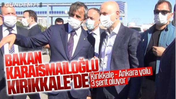 Ulaştırma ve Altyapı Bakanı Adil Karaismailoğlu Kırıkkale'de