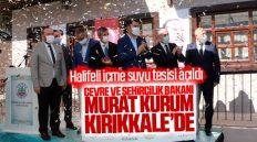 Çevre ve Şehircilik Bakanı Murat Kurum Kırıkkale'de