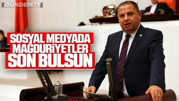 Halil Öztürk; Sosyal Medyada Artan Mağduriyetler Son Bulsun