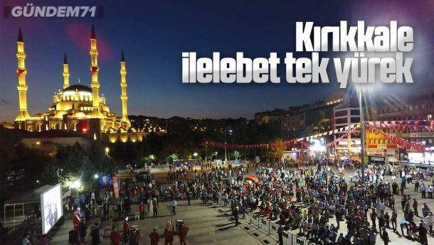 Kırıkkale'de 15 Temmuz Zaferi Kapsamında Şehitler Dualarla Yad Edildi